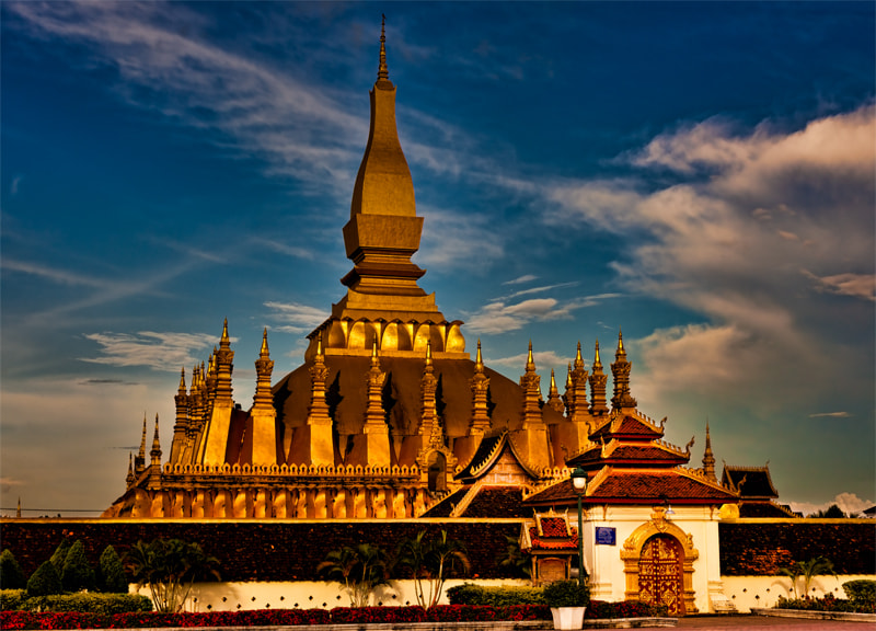 Photograph Phat That Luang, Lao by Michel Latendresse on 500px