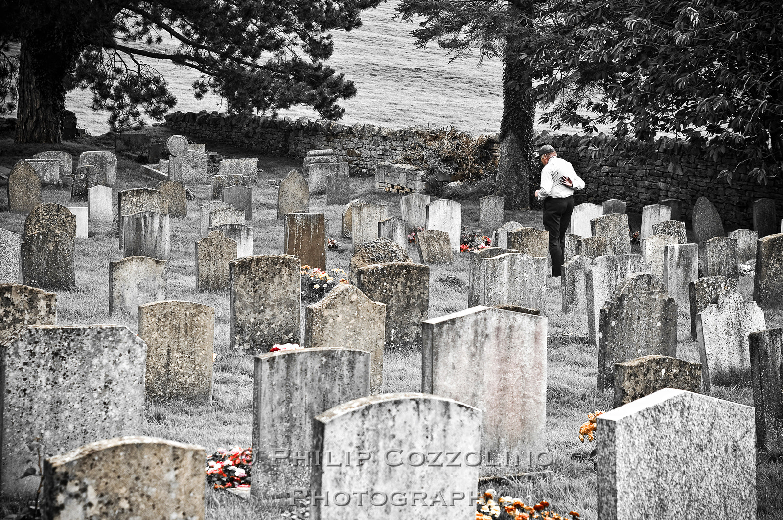 Photograph Cotswolds Cemetery by Philip Cozzolino on 500px