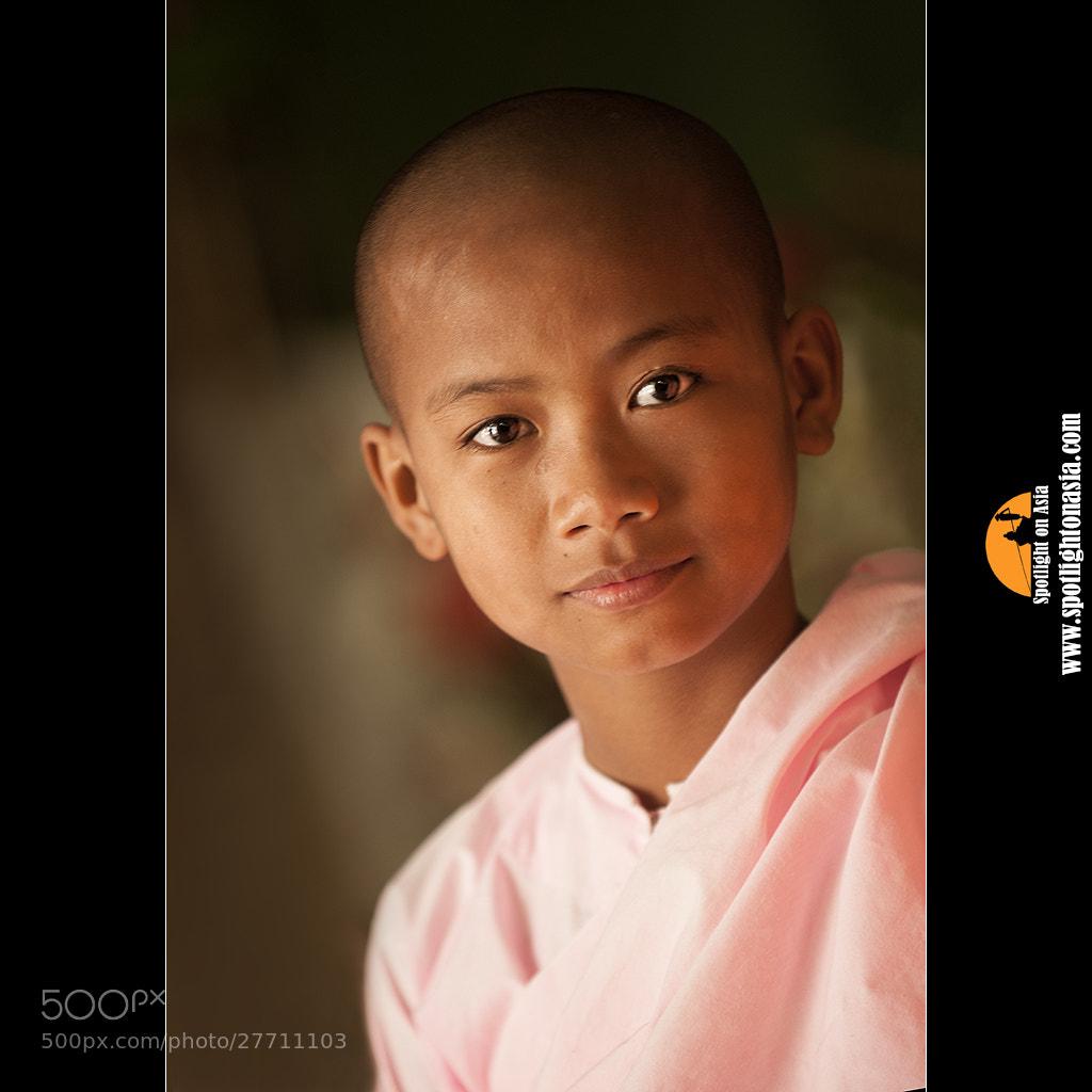 Photograph Burmese Nun by Malcolm Fackender on 500px