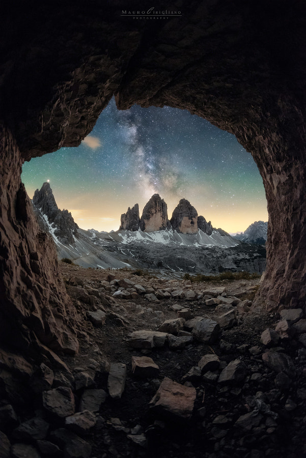 The cave by Mauro Cirigliano on 500px.com