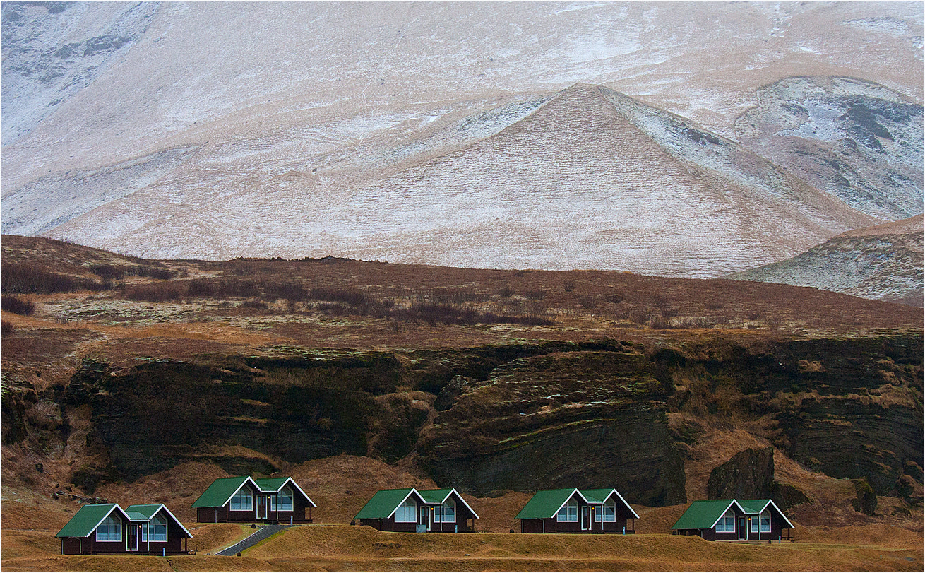 Photograph Five Summer Houses in Winter by David Southern on 500px