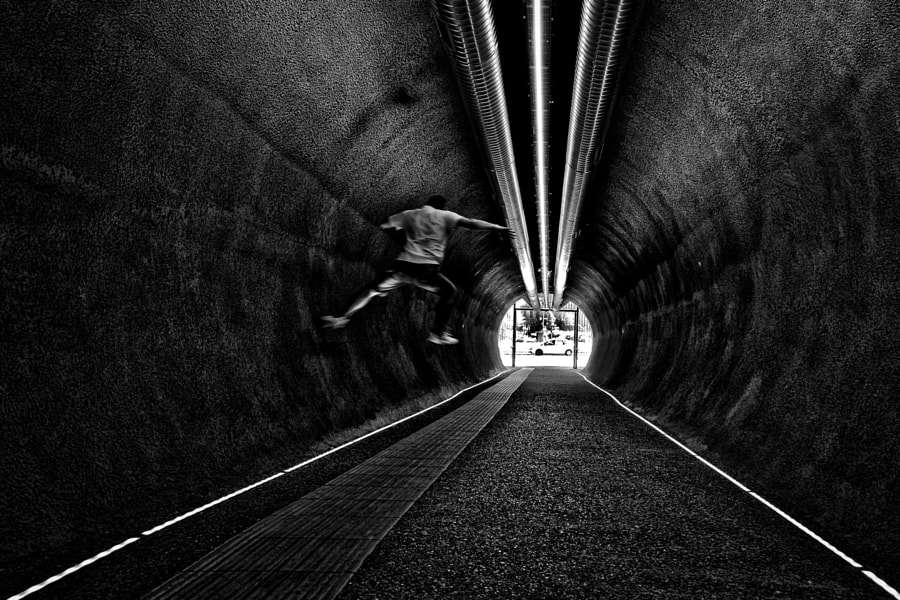 Jump, автор — Vittorio Scatolini на 500px.com