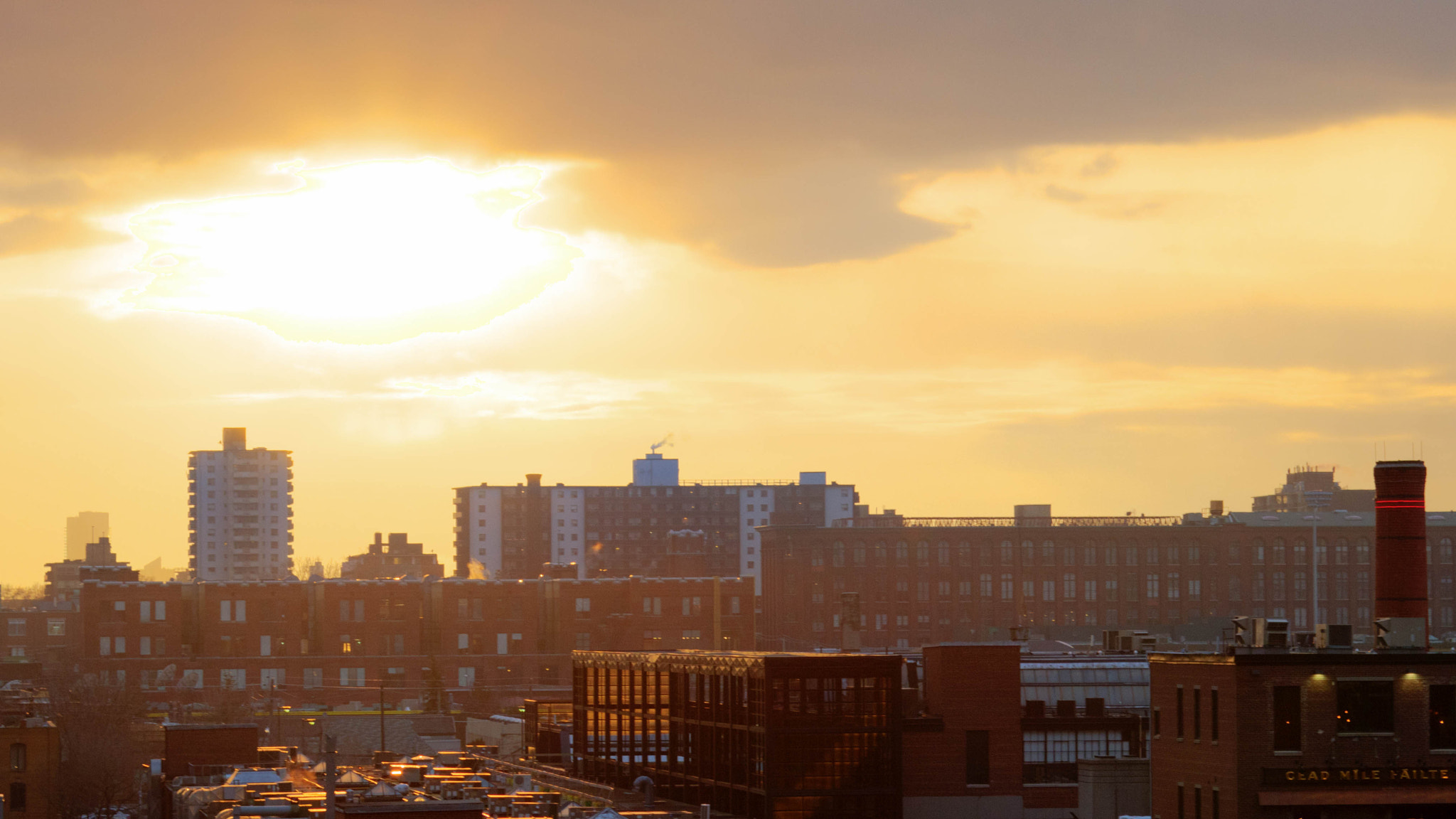Photograph Sunset in Liberty Village by Ash Furrow on 500px