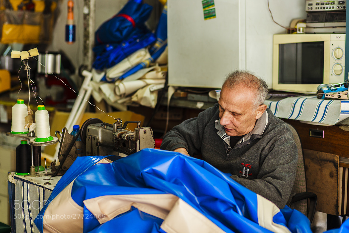 Photograph Tailor in the middle of work by Yaniv Nisinman on 500px