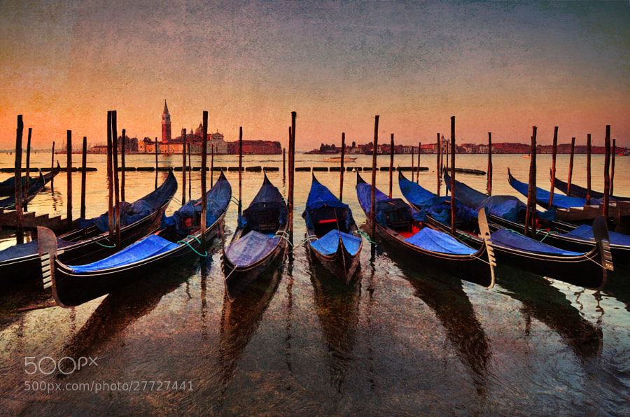 Photograph Painterly Venice by Csilla Zelko on 500px