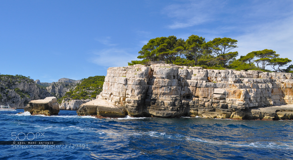 Photograph Cassis' Rocky inlets by Krol  Marc Antonio on 500px