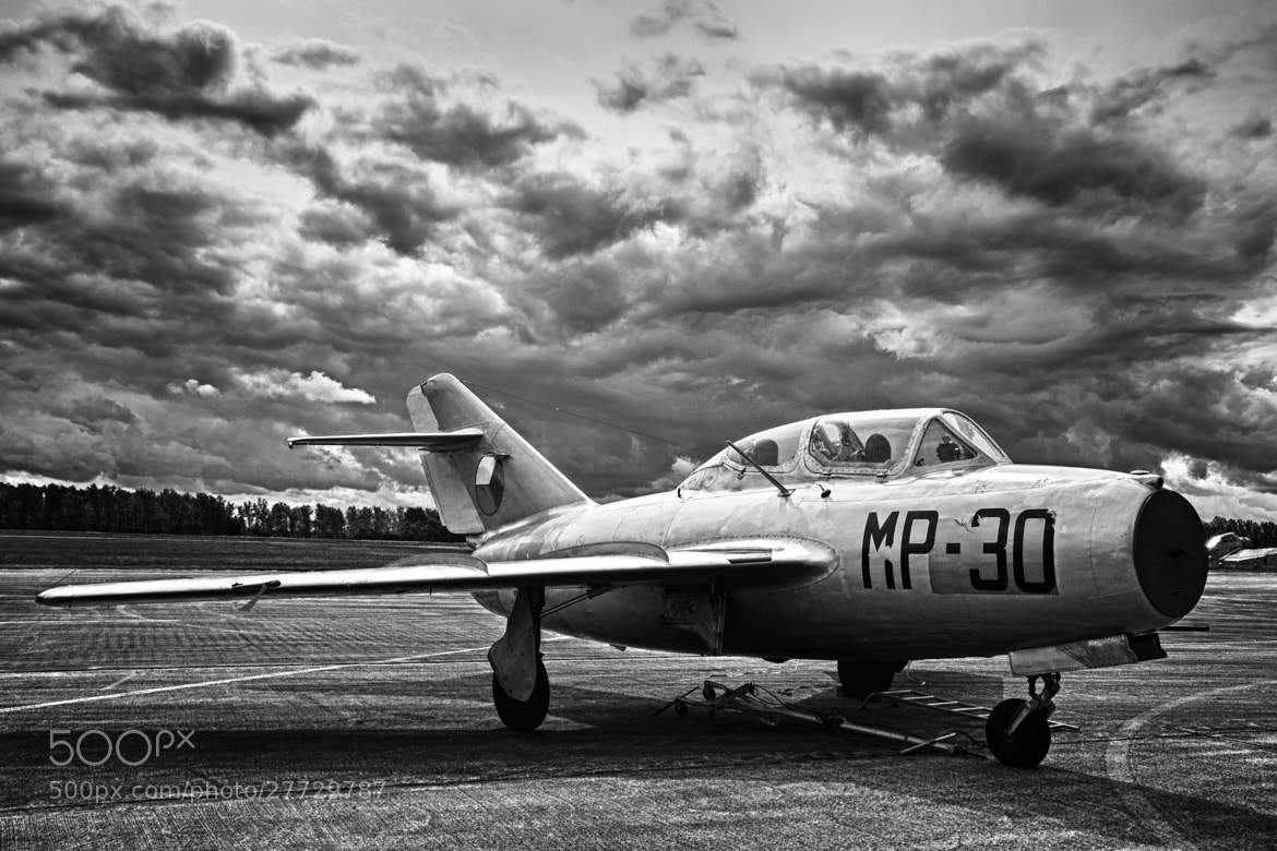 Photograph MiG-15 Reloaded (B&W) by Jürgen Mayer on 500px