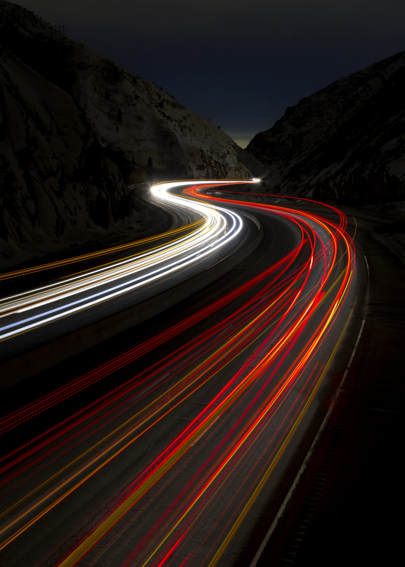 Photograph Twisting through the Night by jim berneike on 500px