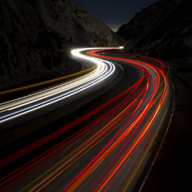 Twisting through the Night by jim berneike (jimberneike)) on 500px.com