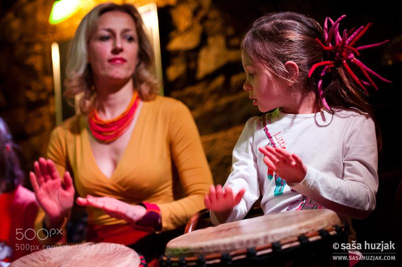 Photograph Little drummer girl by Saša Huzjak on 500px