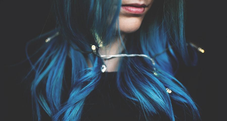 The blue by Renáta Sztelek on 500px.com