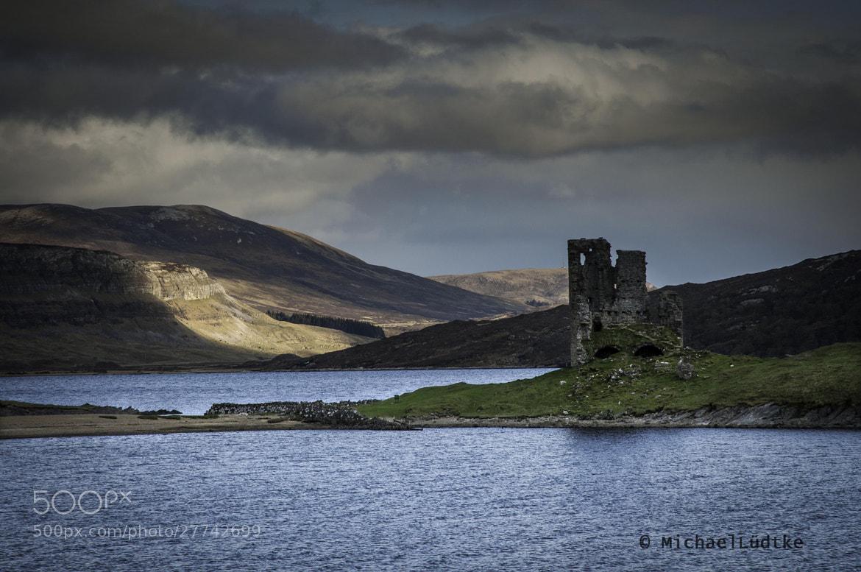 Photograph Scotland, Ardvreck Castle by Michael Lüdtke on 500px