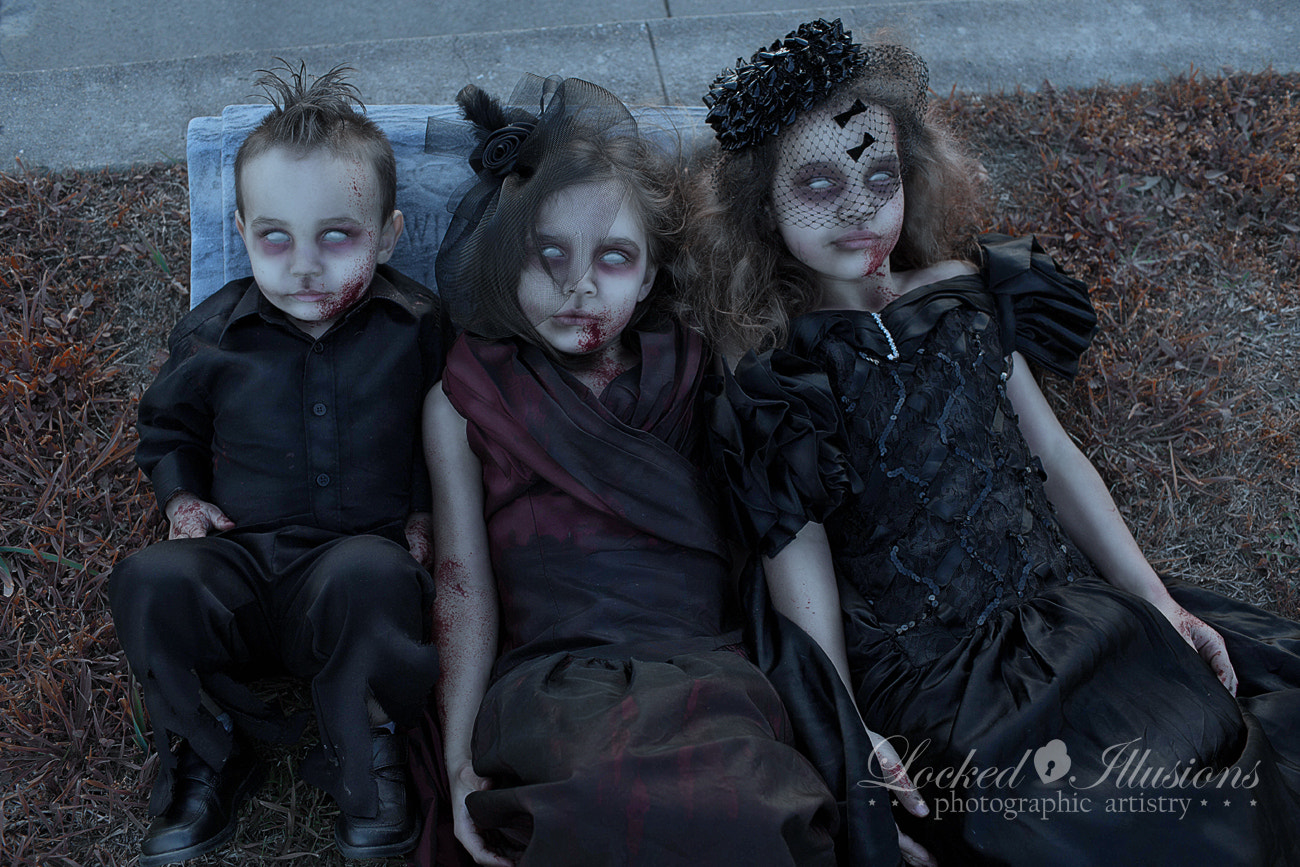 Photograph Zombie Kids by Brit Bentine on 500px