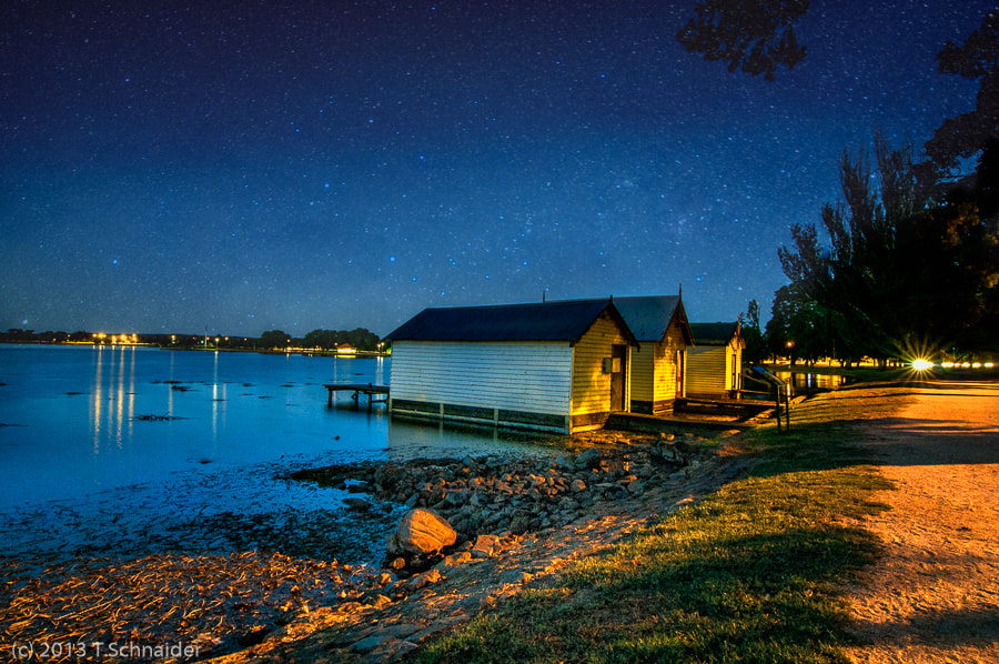 Photograph Lake @night by tschnaider on 500px