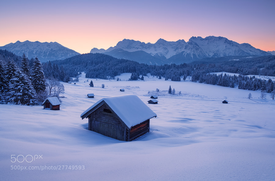 Photograph Frozen Dawn by Michael  Breitung on 500px
