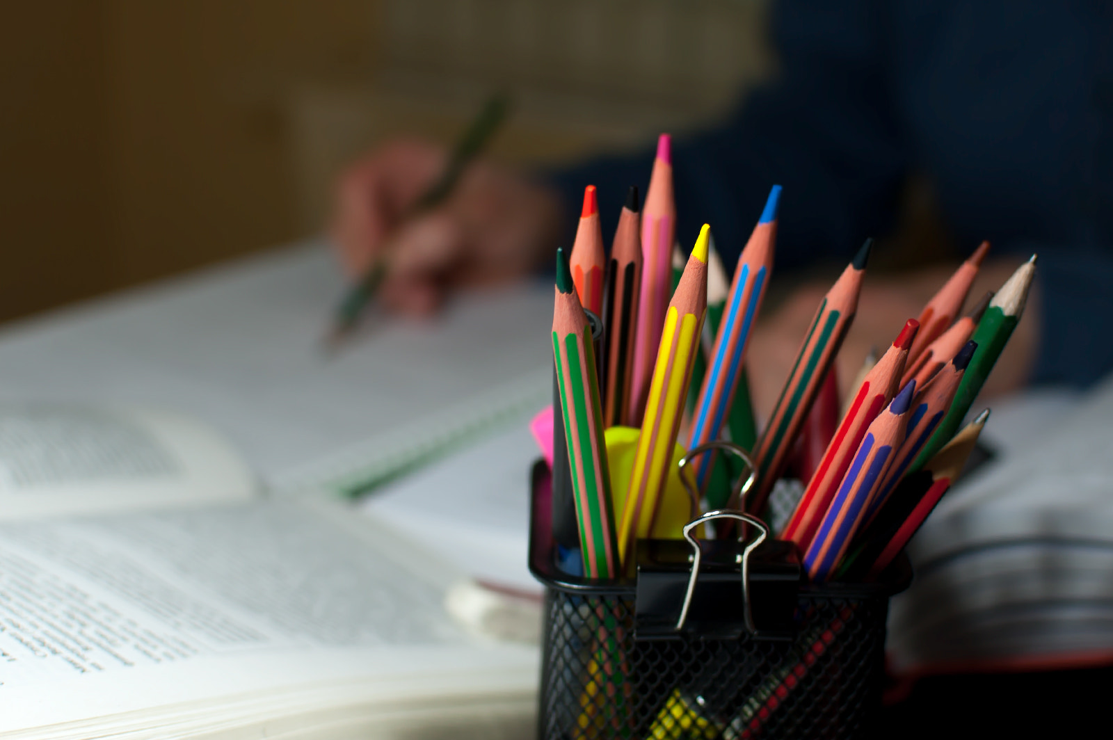 Photograph Colorful studying by Yane Naumoski on 500px