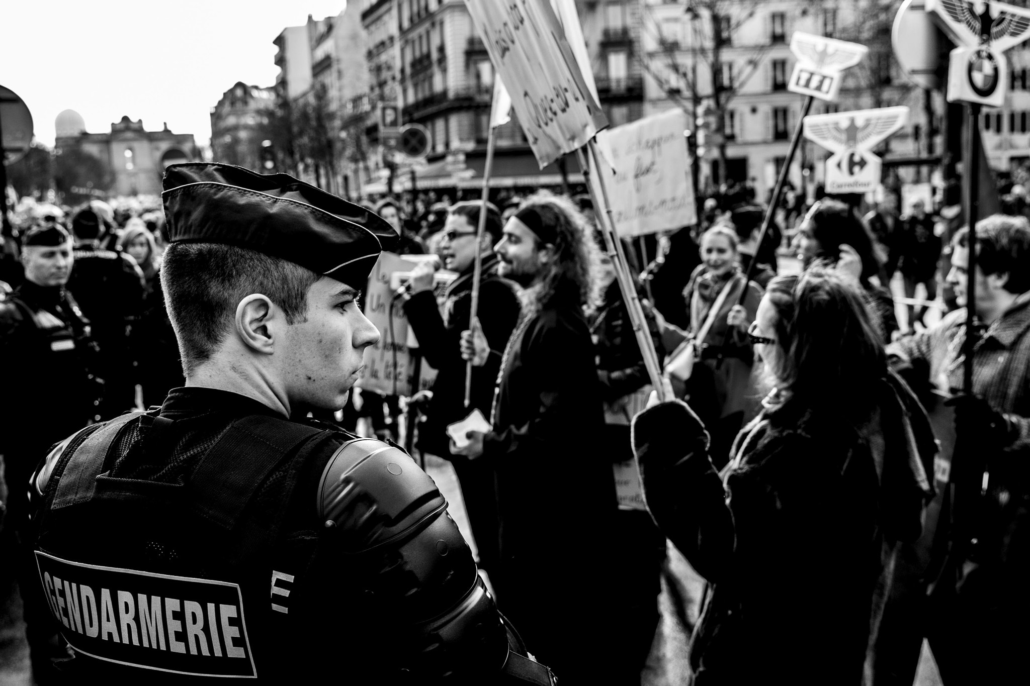Photograph Gendarmerie = Security. by Sacha Morem on 500px