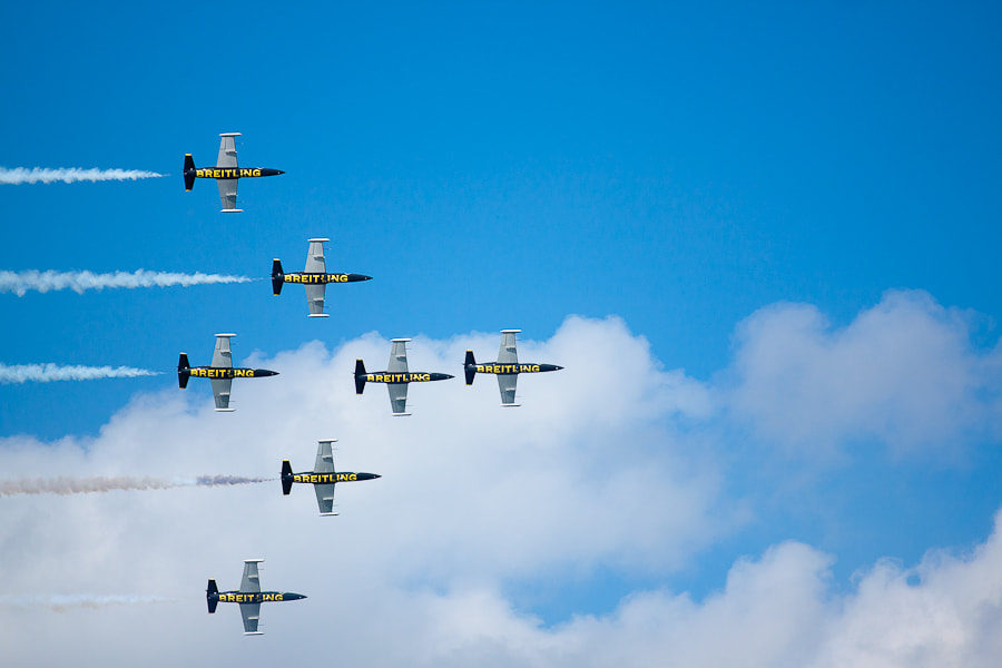 Photograph The Breitling Jet Team by Victoria Tkach on 500px