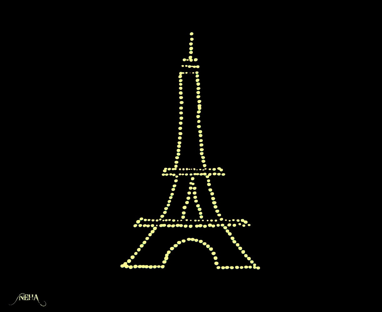 Photograph Lit Eiffel by Nermeen E.H.A. on 500px