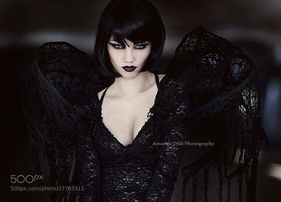 Photograph Goth by Amanda Diaz on 500px