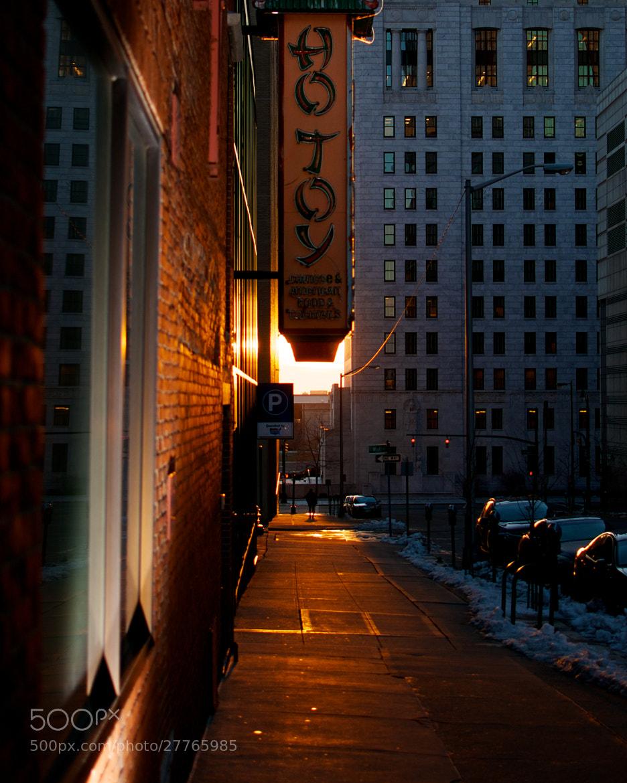 Photograph Sunset under Hotoy by Berkehaus  on 500px