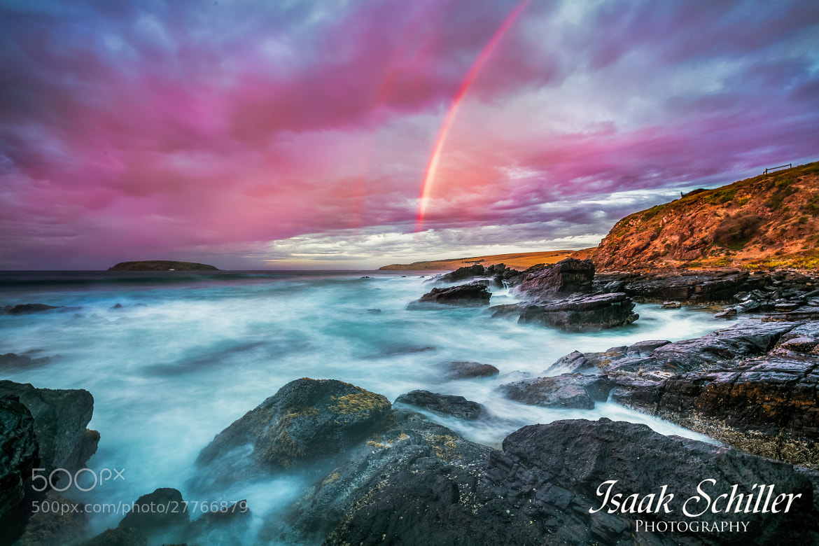 Photograph Rainbow Sea by Isaak  Schiller on 500px