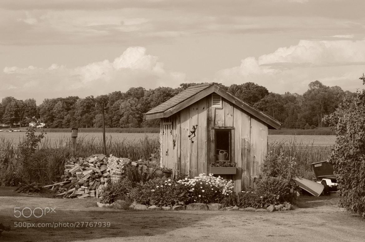 Photograph lonely shed by Adam Neal on 500px