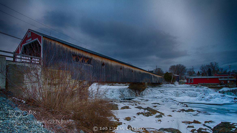 Photograph The Bath-Haverhill Covered Bridge by Lisa Lettieri on 500px
