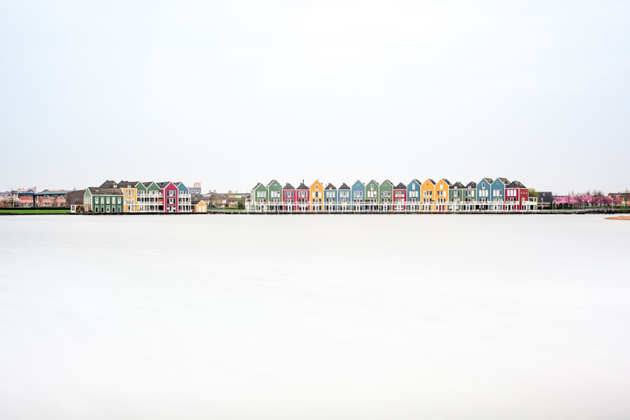 houses at the water by Marcel Derweduwen on 500px.com