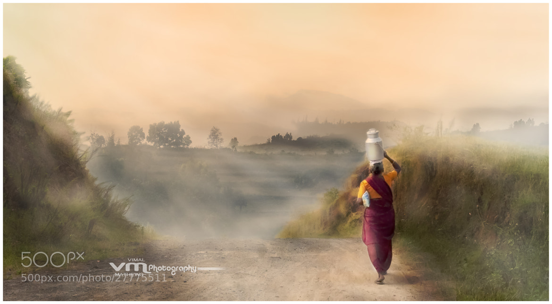 Photograph Milkmaid by Vimal Mathews on 500px