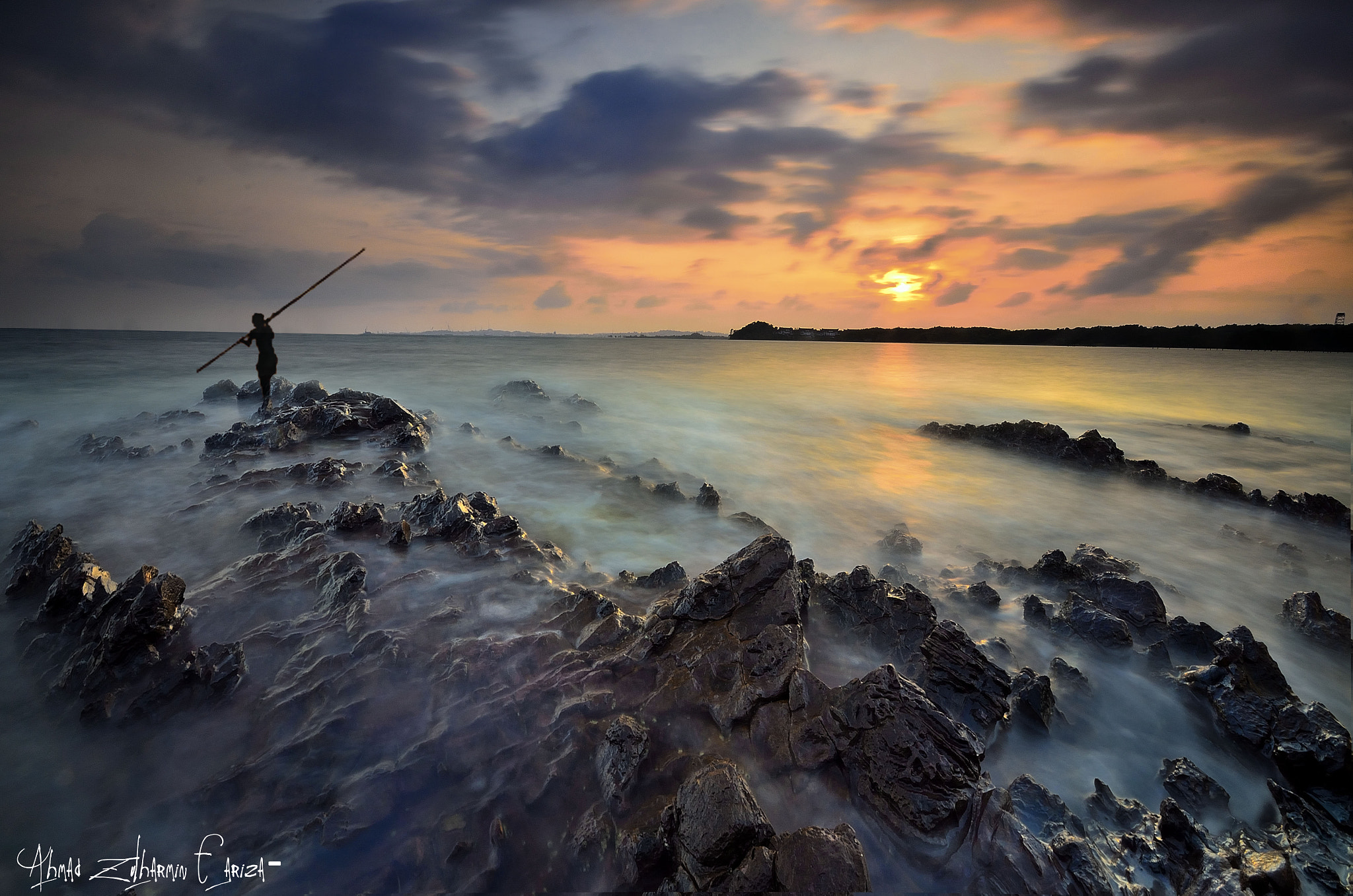 Photograph ::. Traditional Fisherman .:: by Ahmad Zulharmin Fariza on 500px