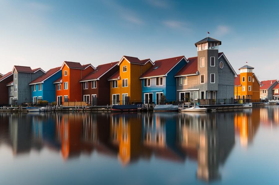 Reitdiephaven, Groningen. by Nicholas Vaiarini on 500px.com