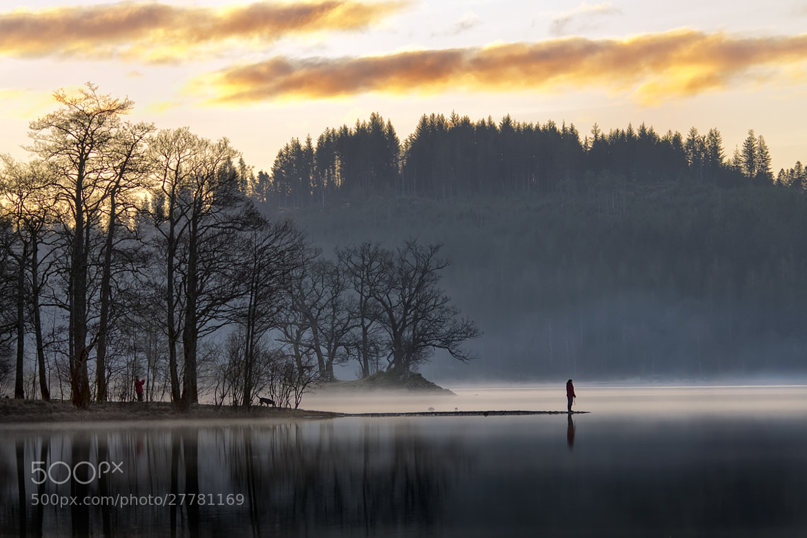 Photograph Morning Reflections... Loch Achray, Trossachs by David Mould on 500px