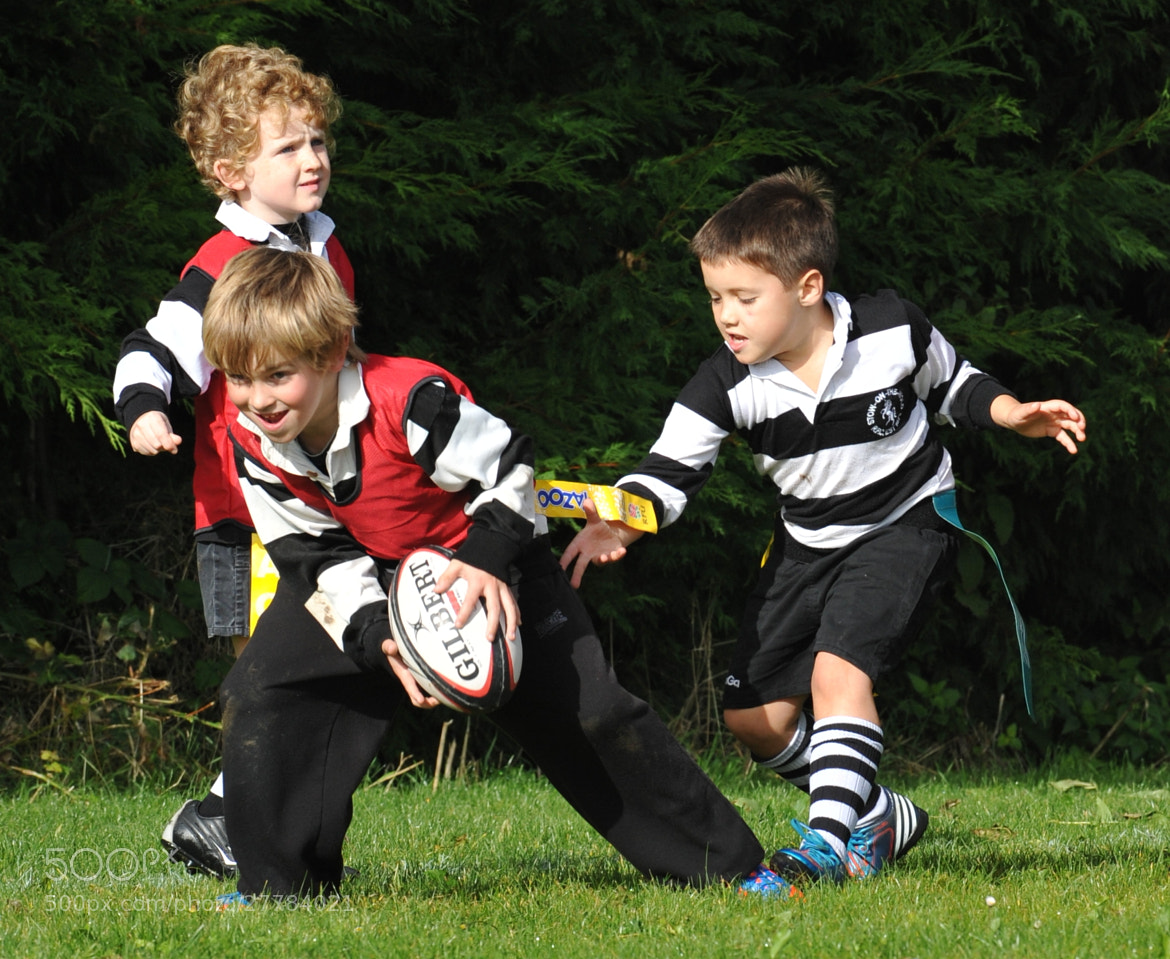Photograph Lets play rugby by Neil Piercy on 500px