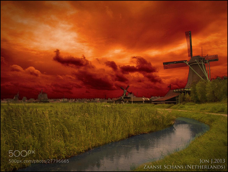 Photograph Mills in Zaanse Schans by Jon Jimenez on 500px