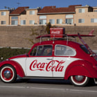 Постер, плакат: VW Coca Cola Car
