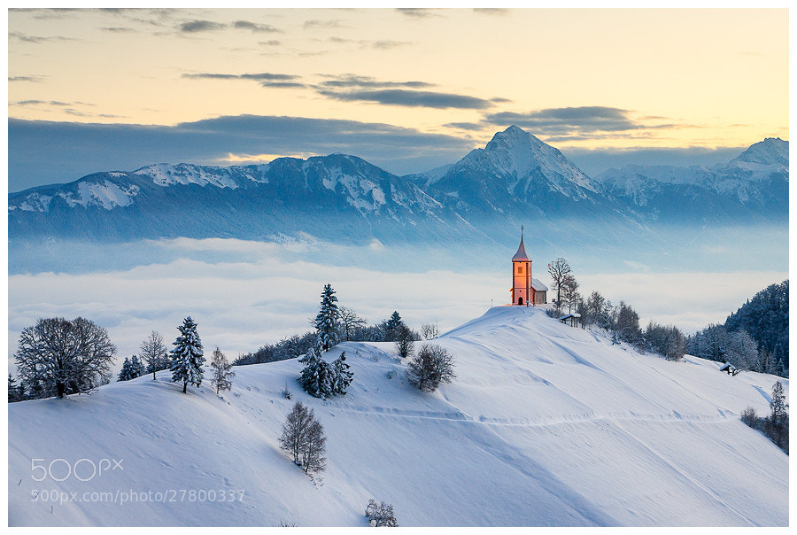 Photograph Winter morning on Jamnik by Simon Benedičič on 500px