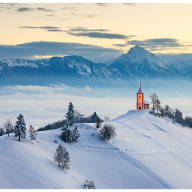 Winter morning on Jamnik by Simon Benedičič on 500px.com