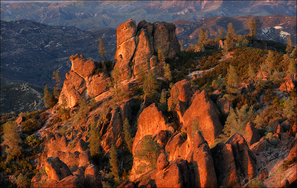 Photograph Last Light on Pinnalces High Peaks by Don Smith on 500px