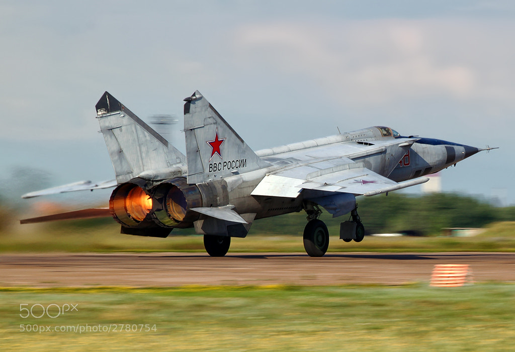 Photograph MiG-25 by Sergey Chaikovskiy on 500px
