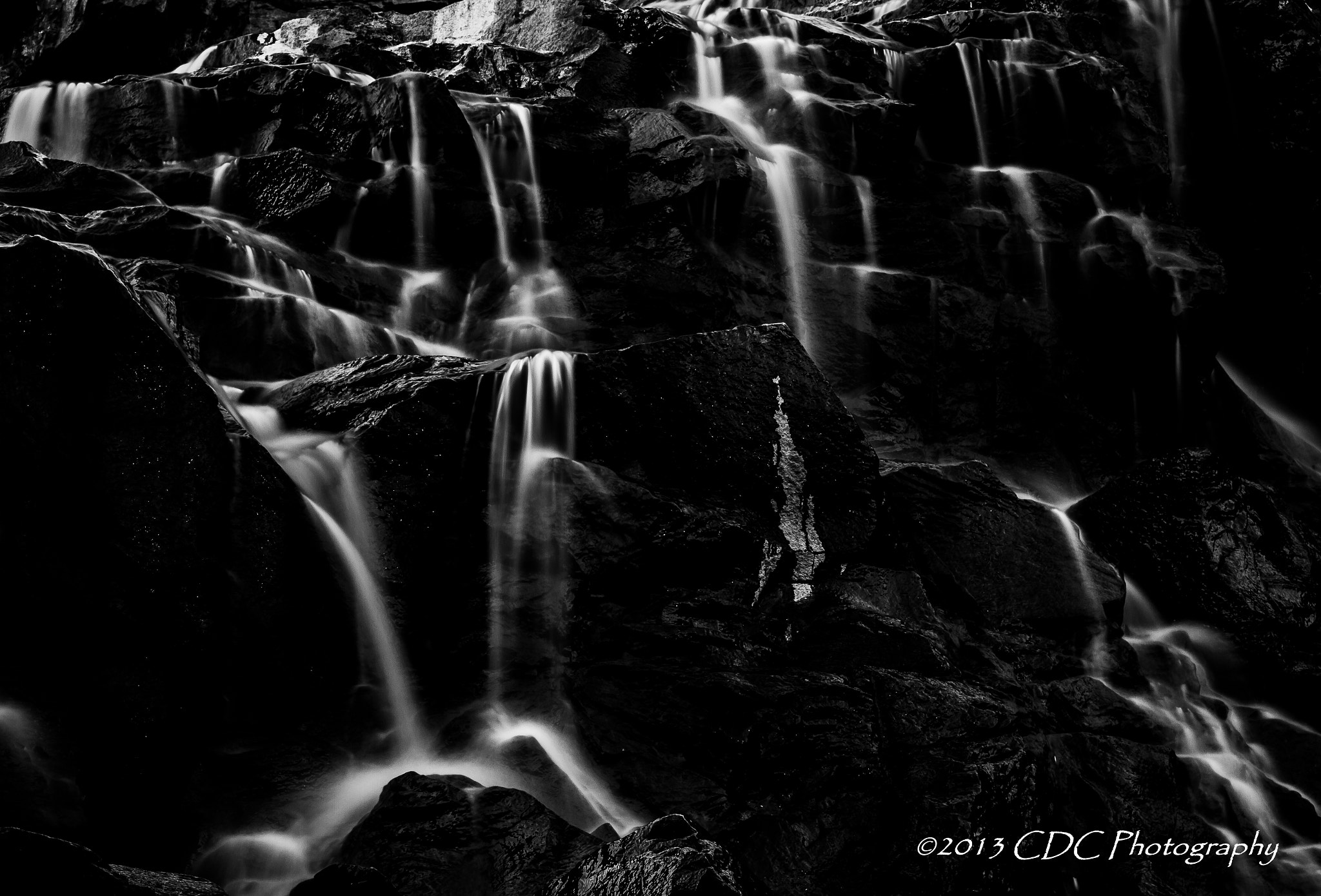 Photograph Dark Cascades by CDC Photography on 500px