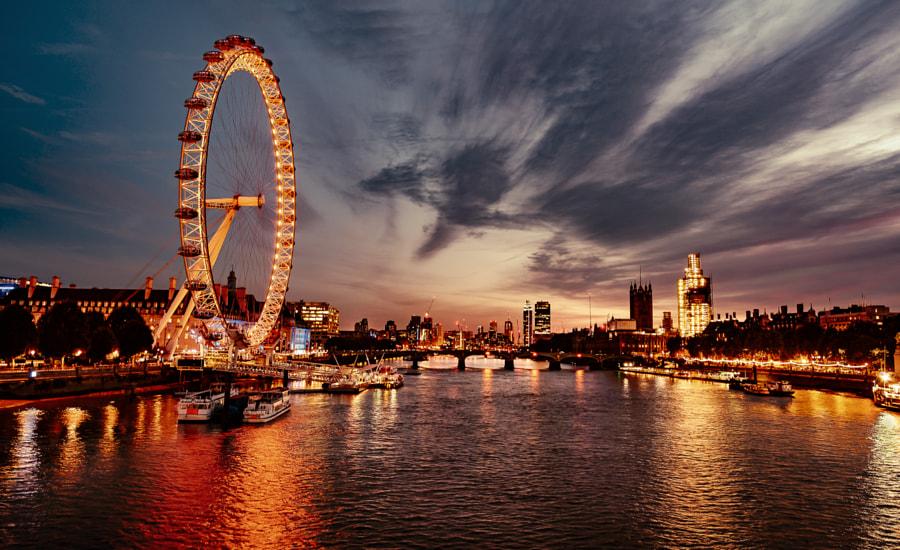 London Eye, автор — Andreas Kardin на 500px.com