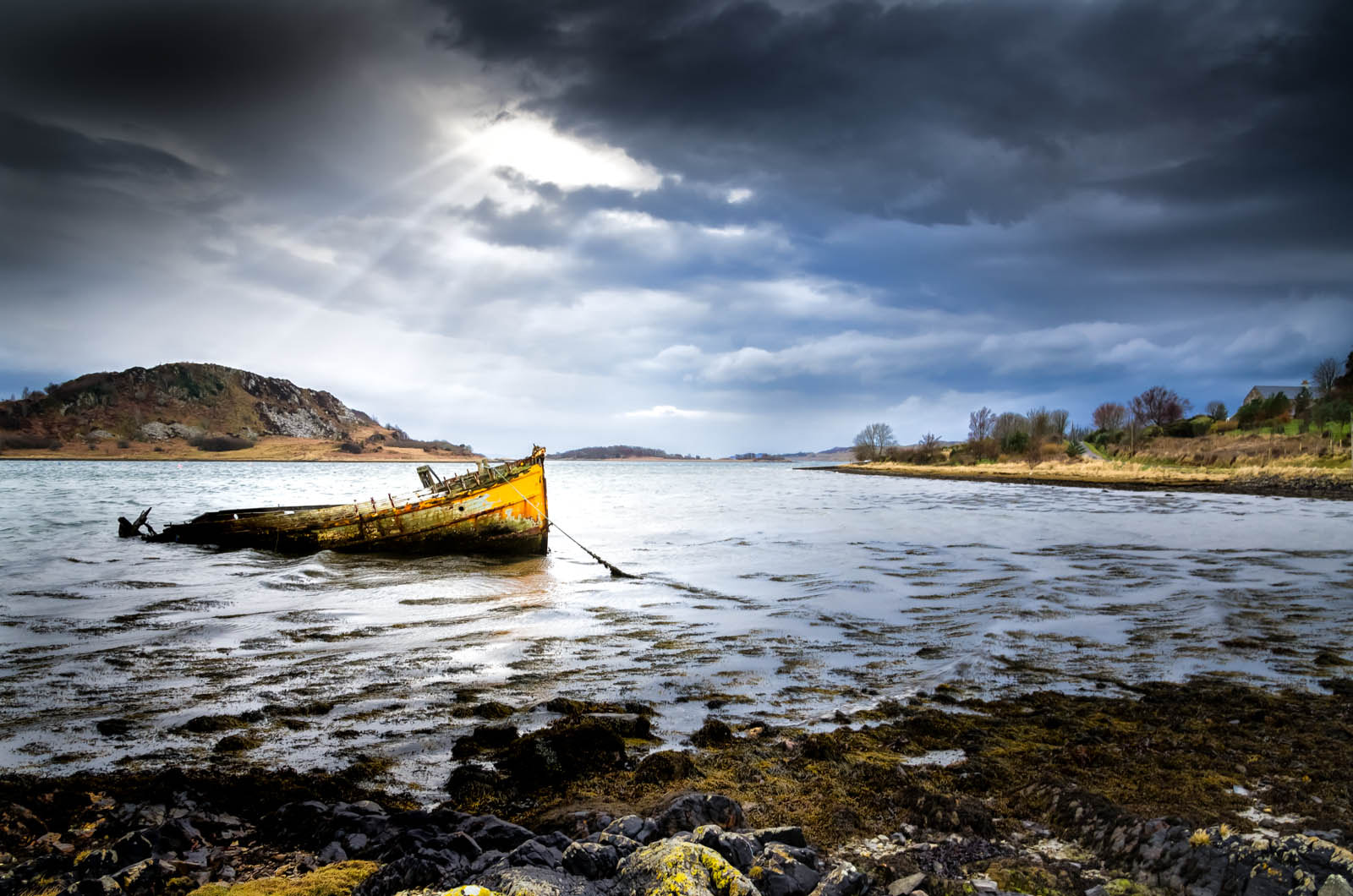 Photograph West Highland Shipwreck by John C. on 500px