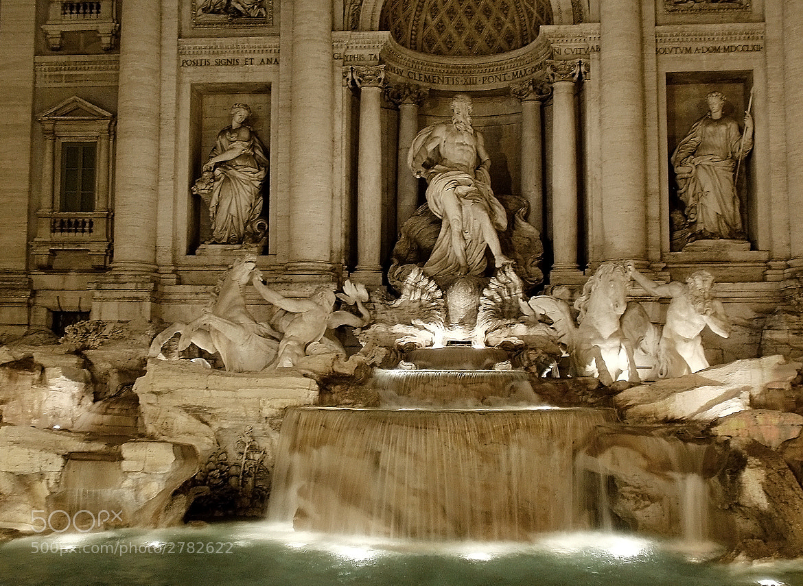 Photograph Fontana di Trevi by Ana MD on 500px
