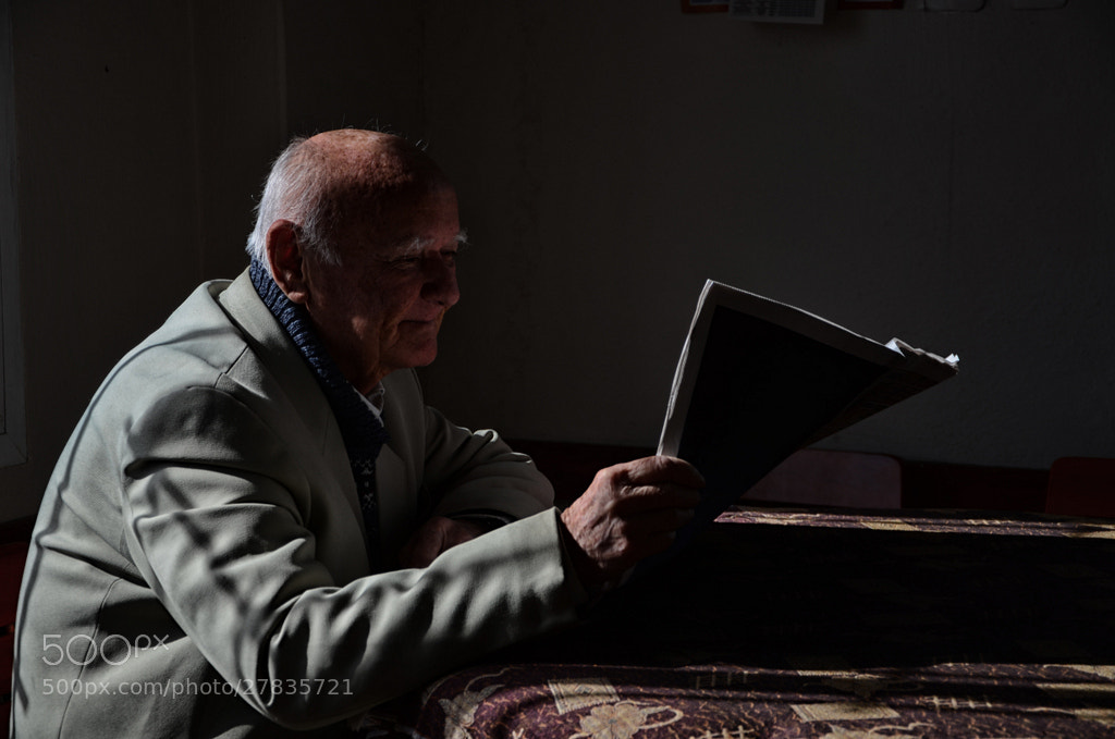 Photograph The man read newspaper... by muhammet özcan on 500px