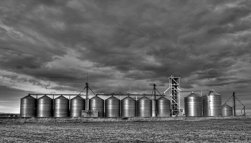 Photograph Bliss Silos by Aaron English on 500px