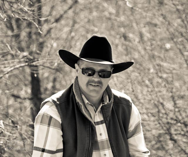 Photograph Cowboy Rob by Aaron English on 500px