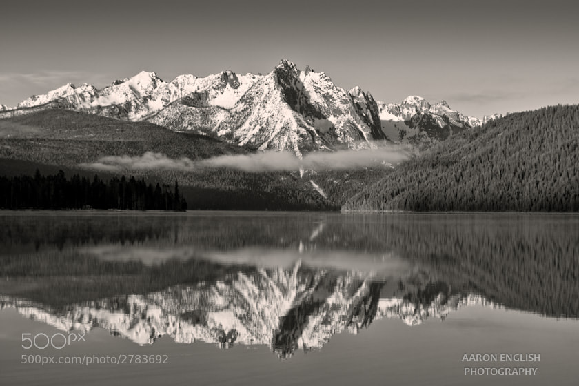 Photograph Red Fish Lake by Aaron English on 500px