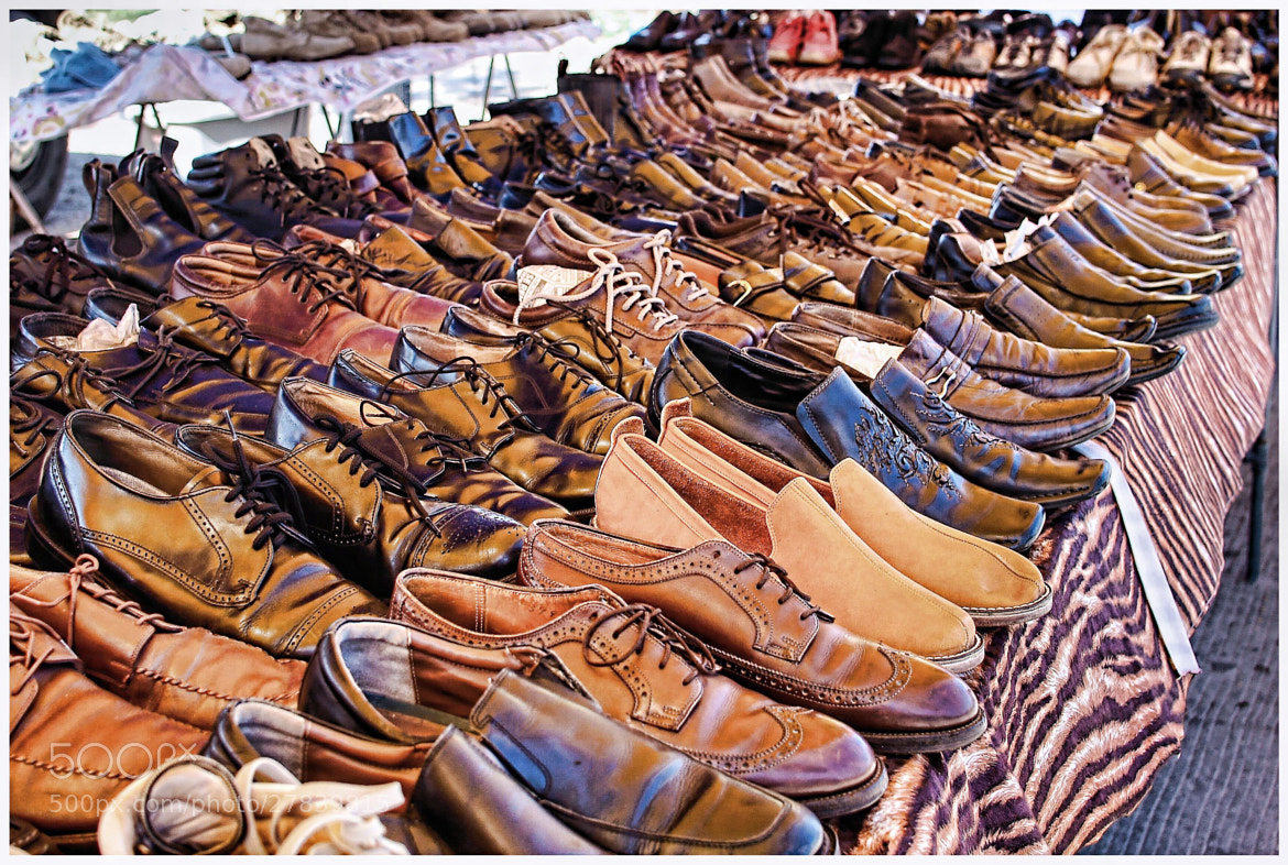 Photograph Used Shoe Sale by Carlos Bravo on 500px