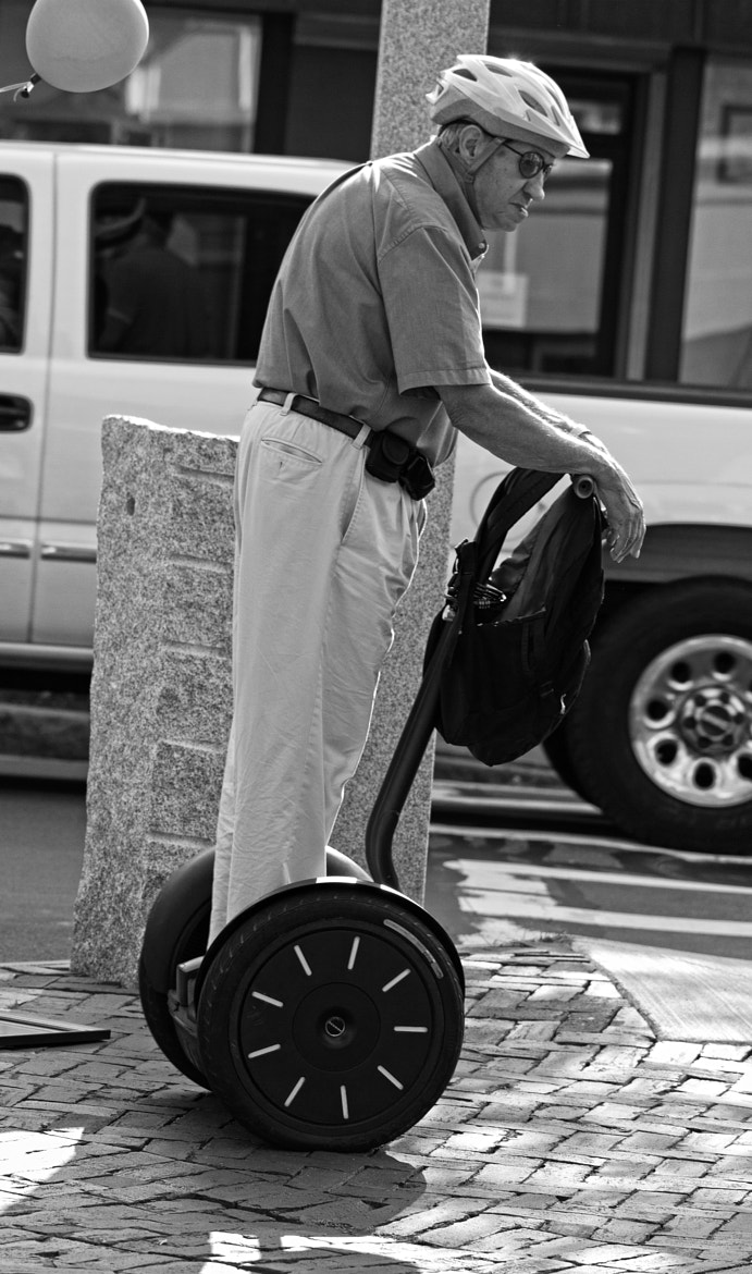 Photograph Old Man on a Segway by John Hoey on 500px